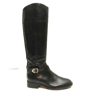 NEW Tory Burch Tall Brown Leather Riding Boots 5.5